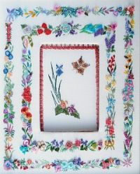 904 - Alphabet Flower Sampler