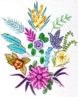932 - Exotic Flowers