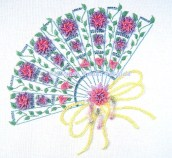 960 - A Fan of Flowers