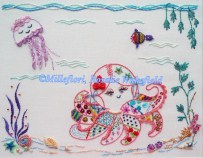 973 - Olivia, A Crazy Lace Octopus