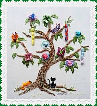 997 - B.E. A Tree DOGwood with Cats